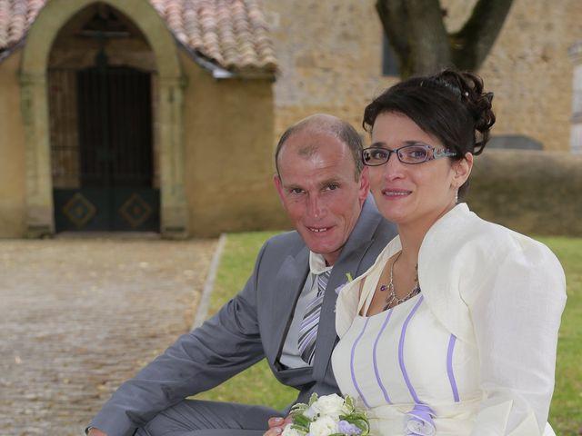Le mariage de Cécile et Frédéric à Mirande, Gers 14