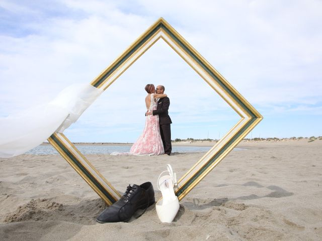Le mariage de Christophe et Sandra à Vergèze, Gard 1