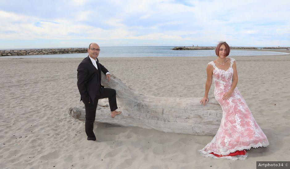 Le mariage de Christophe et Sandra à Vergèze, Gard