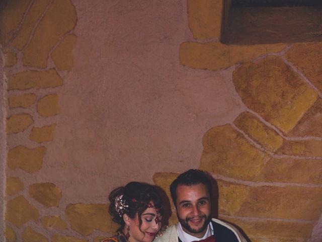 Le mariage de Karim et Sabria à Saint-Laurent-d'Oingt, Rhône 25