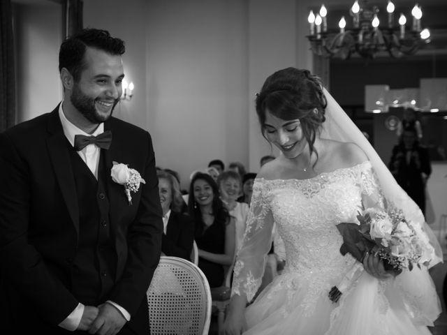 Le mariage de Karim et Sabria à Saint-Laurent-d'Oingt, Rhône 8