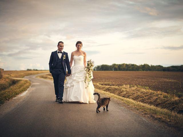 Le mariage de Quentin et Anaïs à Ougney, Jura 19
