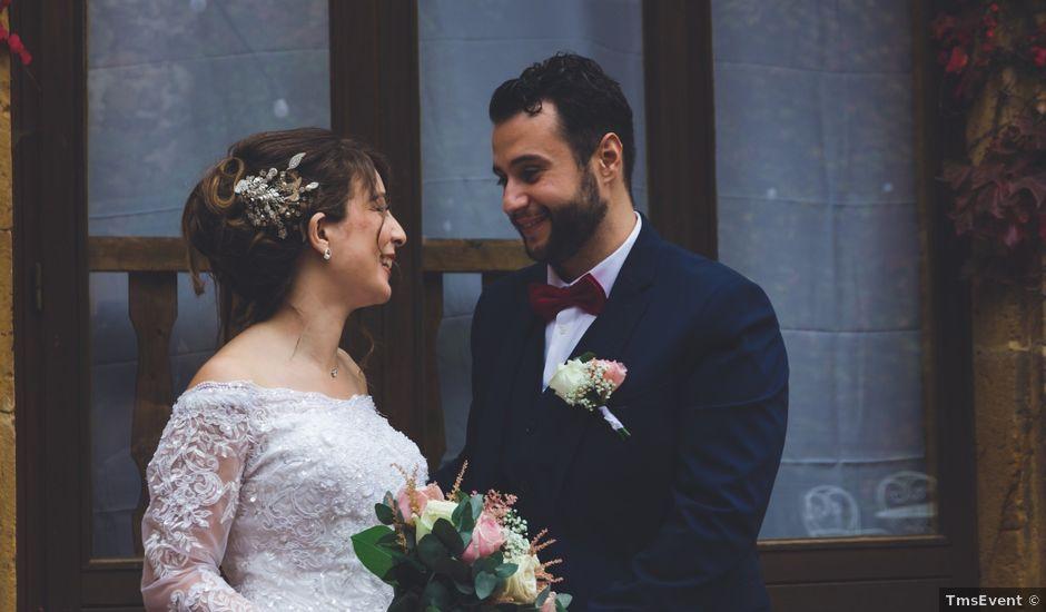 Le mariage de Karim et Sabria à Saint-Laurent-d'Oingt, Rhône