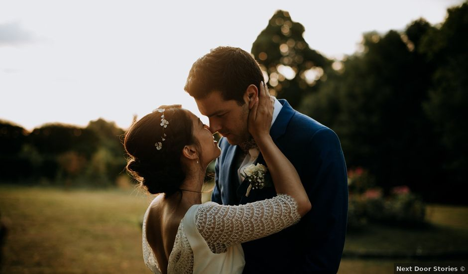 Le mariage de Valére et Roseline à Santeny, Val-de-Marne
