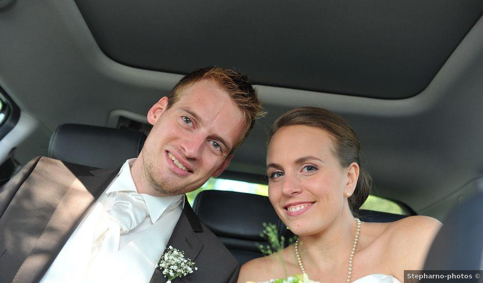 Le mariage de Guillaume et Stéphanie à Acquigny, Eure