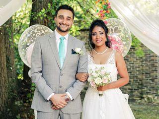 Le mariage de Vishakha et Julien