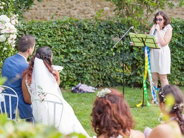 Le mariage de Valentin et Marie-Delphine à Chatignonville, Essonne 12