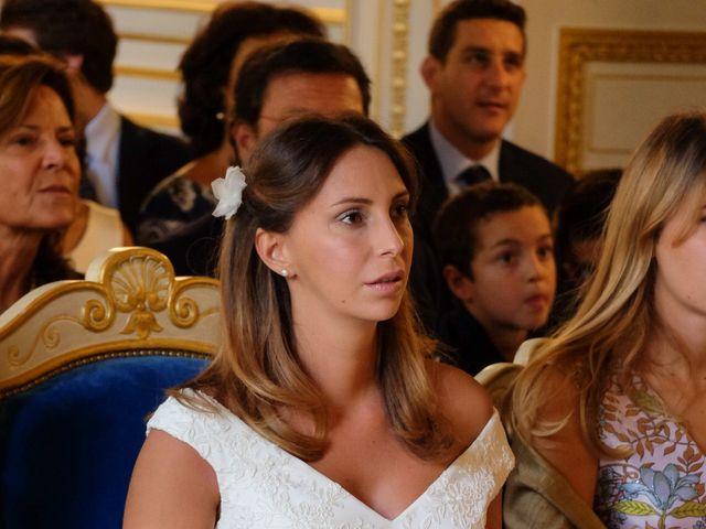 Le mariage de Francesco et Vittoria à Paris, Paris 4