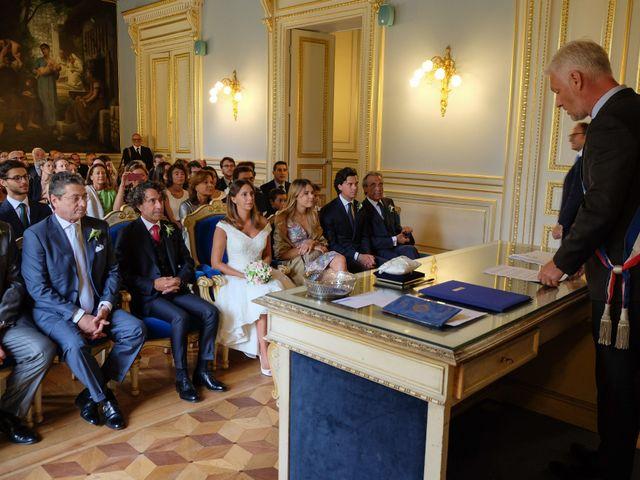 Le mariage de Francesco et Vittoria à Paris, Paris 7