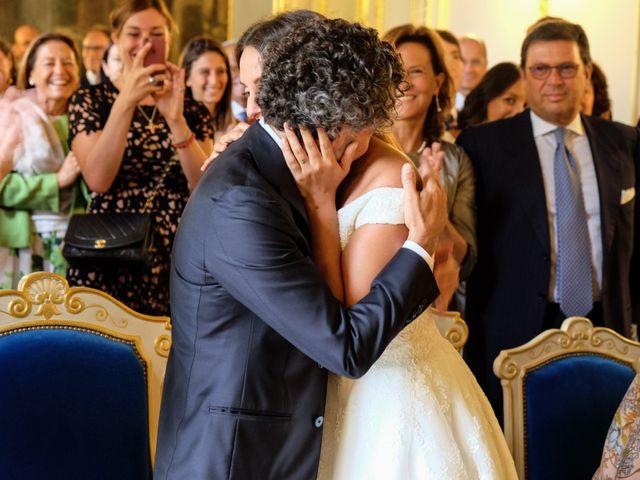 Le mariage de Francesco et Vittoria à Paris, Paris 8