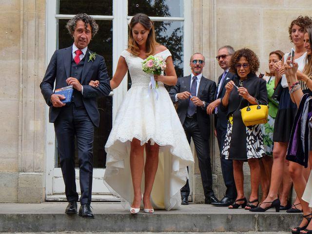 Le mariage de Francesco et Vittoria à Paris, Paris 14