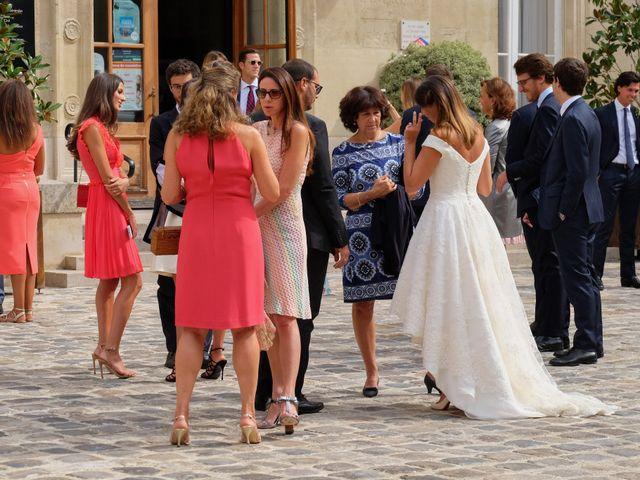 Le mariage de Francesco et Vittoria à Paris, Paris 16