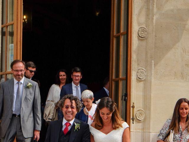 Le mariage de Francesco et Vittoria à Paris, Paris 18