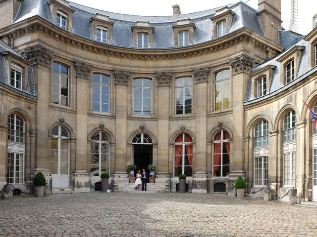 Le mariage de Francesco et Vittoria à Paris, Paris 20