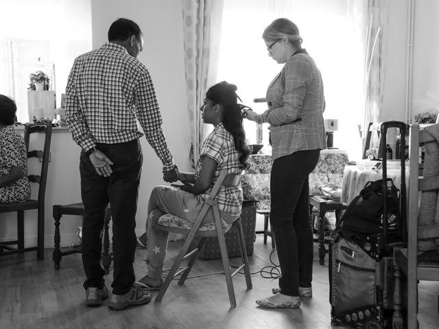 Le mariage de Julien et Vishakha à Maisons-Laffitte, Yvelines 10