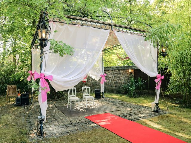 Le mariage de Julien et Vishakha à Maisons-Laffitte, Yvelines 47