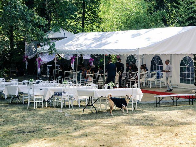 Le mariage de Julien et Vishakha à Maisons-Laffitte, Yvelines 53