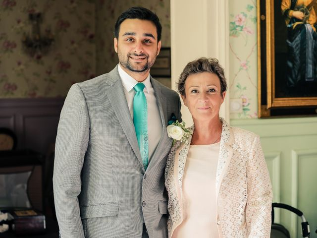 Le mariage de Julien et Vishakha à Maisons-Laffitte, Yvelines 56
