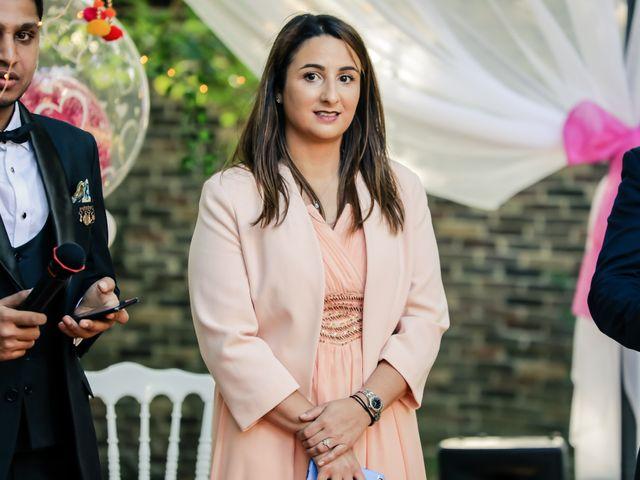 Le mariage de Julien et Vishakha à Maisons-Laffitte, Yvelines 63