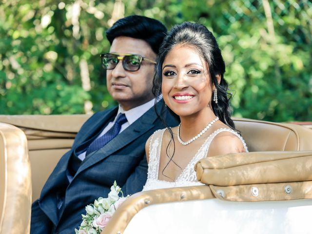 Le mariage de Julien et Vishakha à Maisons-Laffitte, Yvelines 75