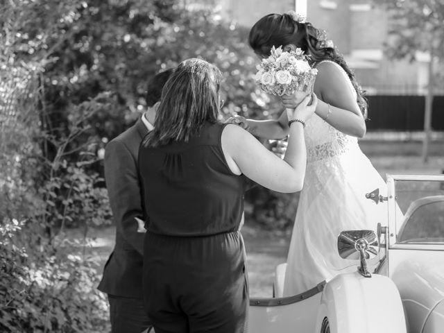 Le mariage de Julien et Vishakha à Maisons-Laffitte, Yvelines 76