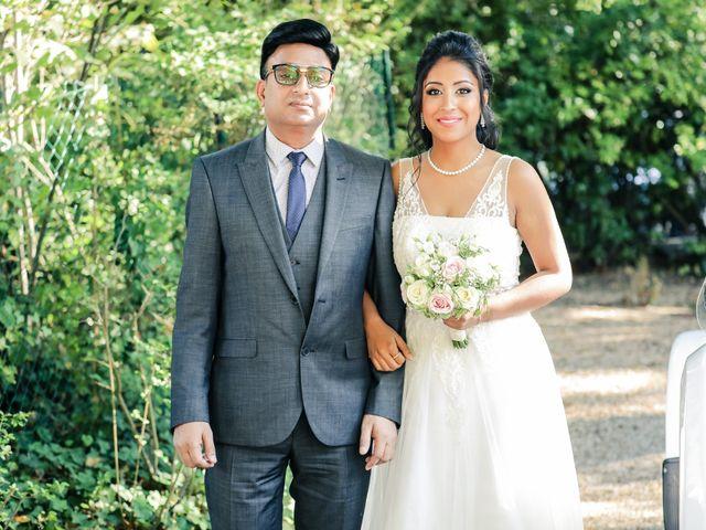 Le mariage de Julien et Vishakha à Maisons-Laffitte, Yvelines 77