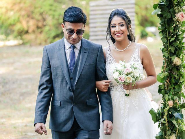 Le mariage de Julien et Vishakha à Maisons-Laffitte, Yvelines 78