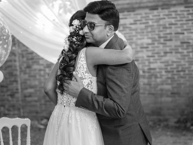 Le mariage de Julien et Vishakha à Maisons-Laffitte, Yvelines 83