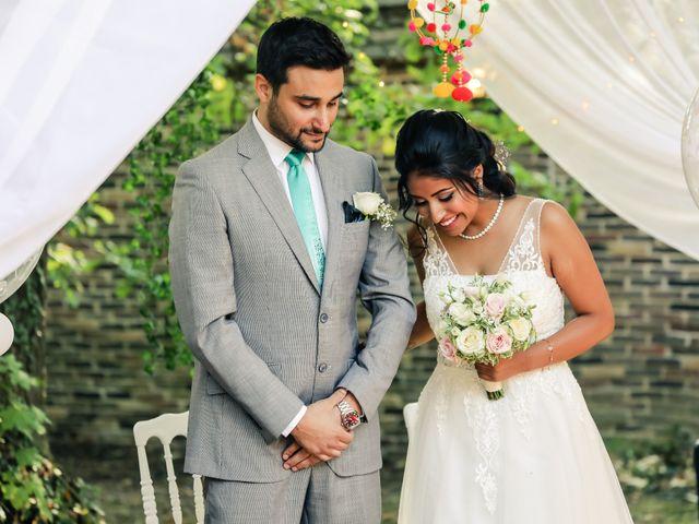 Le mariage de Julien et Vishakha à Maisons-Laffitte, Yvelines 84