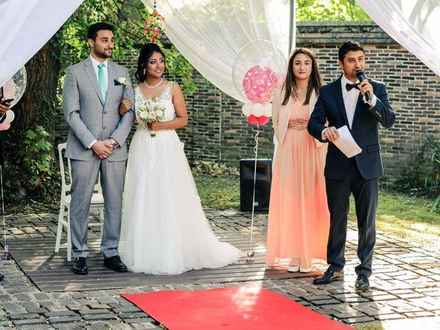 Le mariage de Julien et Vishakha à Maisons-Laffitte, Yvelines 86