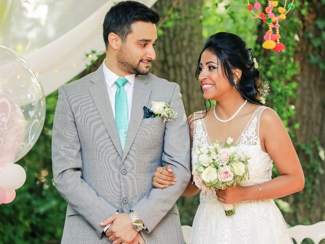 Le mariage de Julien et Vishakha à Maisons-Laffitte, Yvelines 87