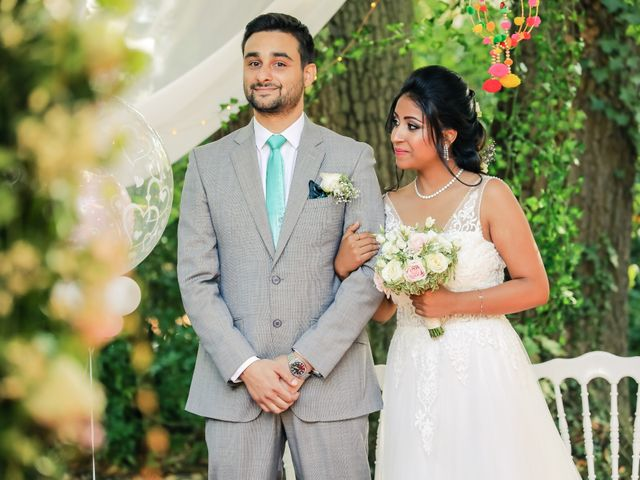 Le mariage de Julien et Vishakha à Maisons-Laffitte, Yvelines 89