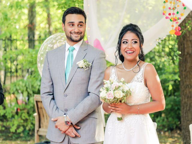 Le mariage de Julien et Vishakha à Maisons-Laffitte, Yvelines 102