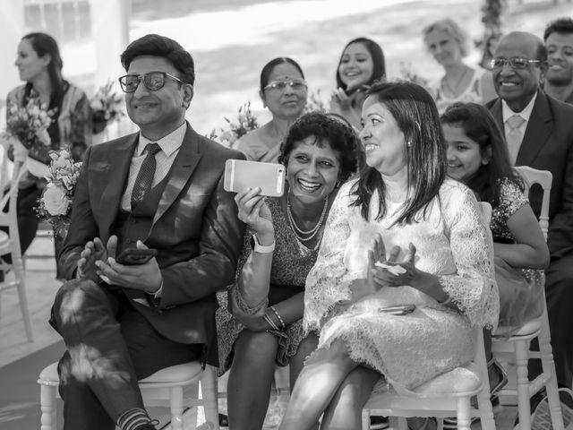 Le mariage de Julien et Vishakha à Maisons-Laffitte, Yvelines 108