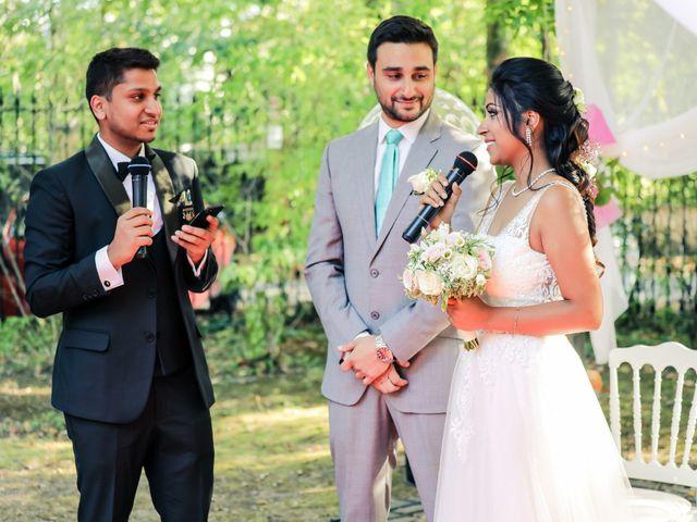 Le mariage de Julien et Vishakha à Maisons-Laffitte, Yvelines 118