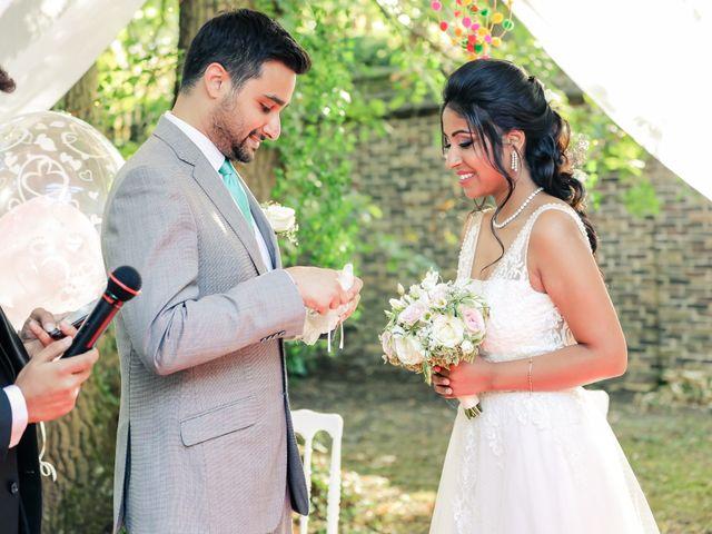 Le mariage de Julien et Vishakha à Maisons-Laffitte, Yvelines 120
