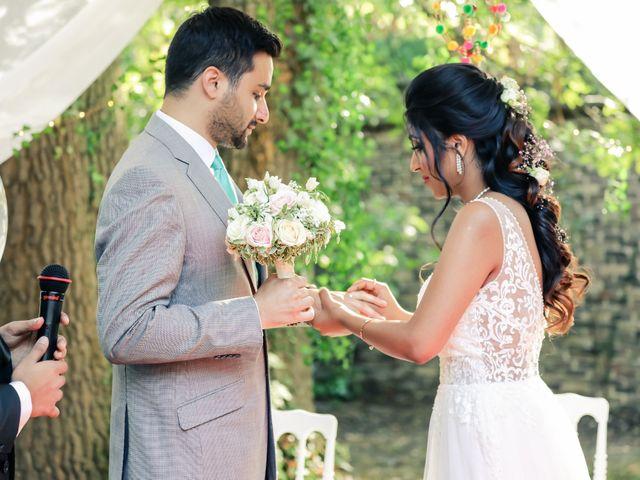 Le mariage de Julien et Vishakha à Maisons-Laffitte, Yvelines 121