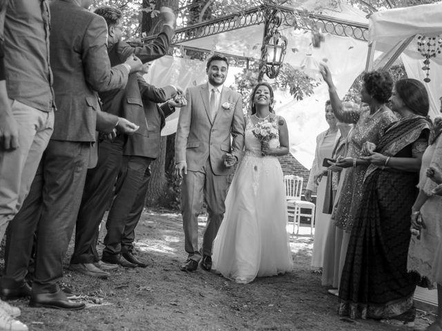 Le mariage de Julien et Vishakha à Maisons-Laffitte, Yvelines 129