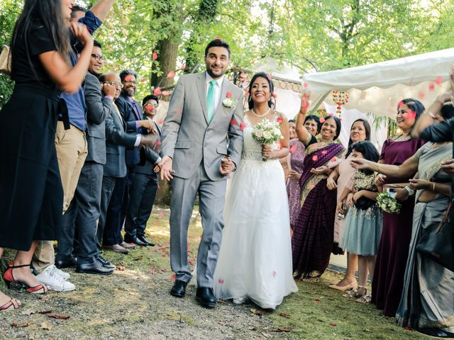 Le mariage de Julien et Vishakha à Maisons-Laffitte, Yvelines 130