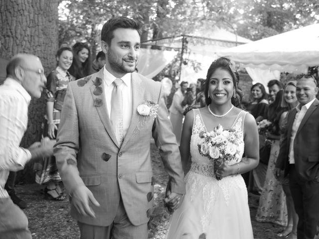 Le mariage de Julien et Vishakha à Maisons-Laffitte, Yvelines 131