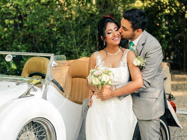 Le mariage de Julien et Vishakha à Maisons-Laffitte, Yvelines 132