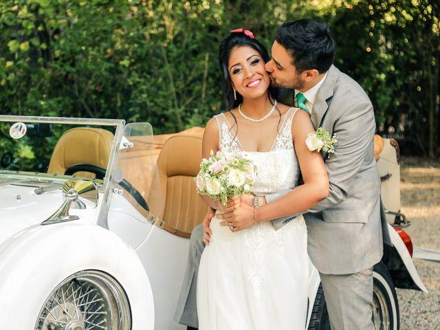 Le mariage de Julien et Vishakha à Maisons-Laffitte, Yvelines 133