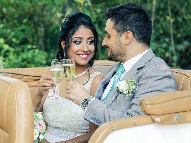 Le mariage de Julien et Vishakha à Maisons-Laffitte, Yvelines 134