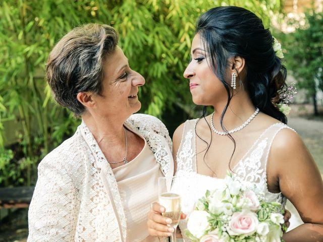 Le mariage de Julien et Vishakha à Maisons-Laffitte, Yvelines 135