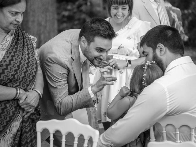 Le mariage de Julien et Vishakha à Maisons-Laffitte, Yvelines 147