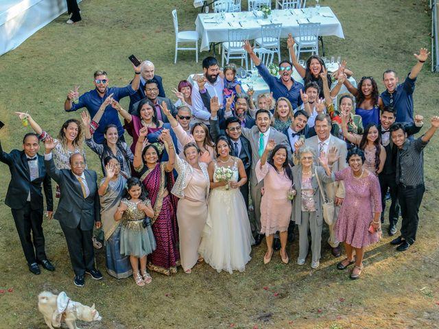 Le mariage de Julien et Vishakha à Maisons-Laffitte, Yvelines 148