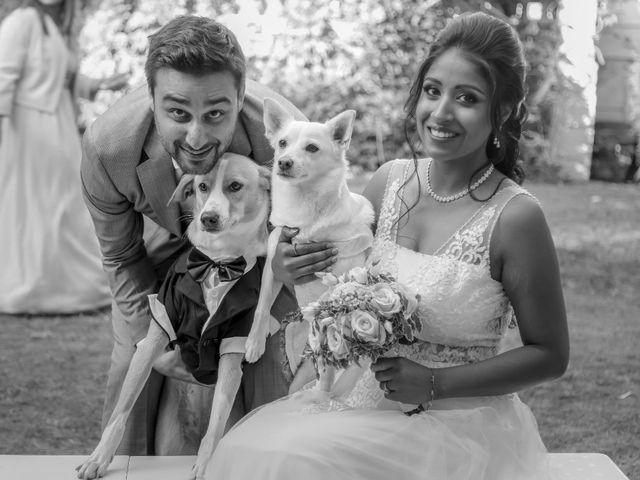 Le mariage de Julien et Vishakha à Maisons-Laffitte, Yvelines 152