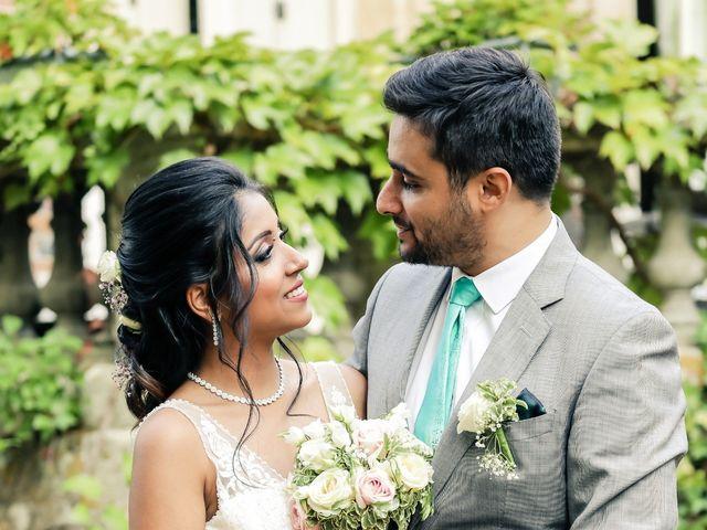 Le mariage de Julien et Vishakha à Maisons-Laffitte, Yvelines 153