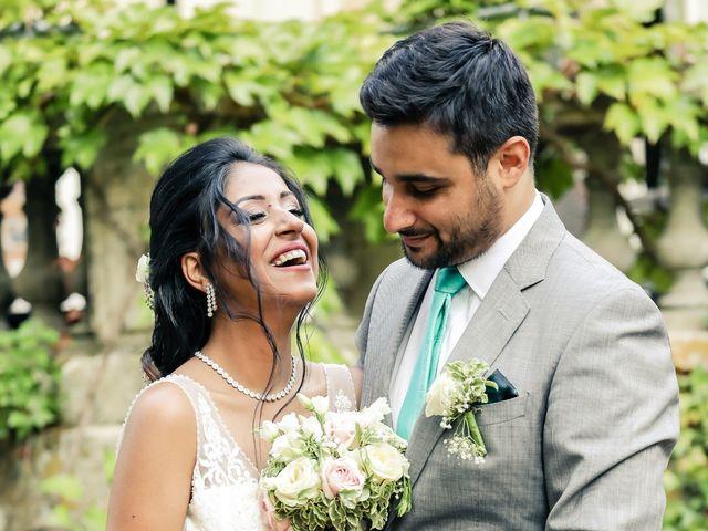 Le mariage de Julien et Vishakha à Maisons-Laffitte, Yvelines 154