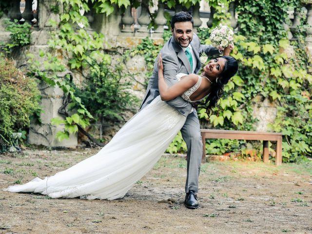 Le mariage de Julien et Vishakha à Maisons-Laffitte, Yvelines 156